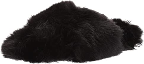 Amazon Brand - Mae Women's Fuzzy One-Strap Slipper