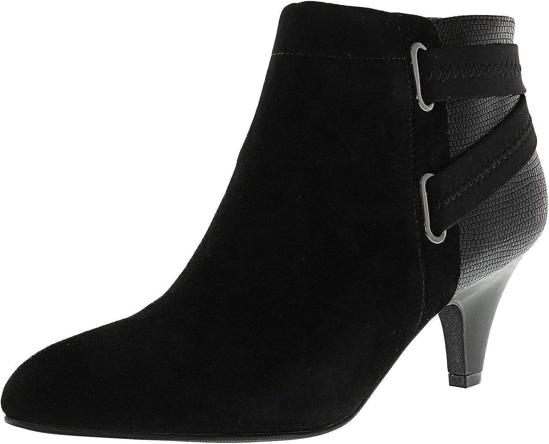 Alfani Womens Vandela2 Closed Toe Ankle Fashion Boots Fashion, Black, Size 5.0