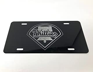 black phillies license plate