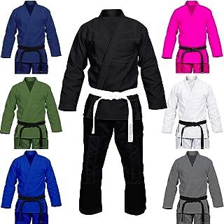 Max5 Full Blank Brazilian Jiu Jitsu Gi MMA Martial Arts Uniform BJJ Gi Grappling Kimono