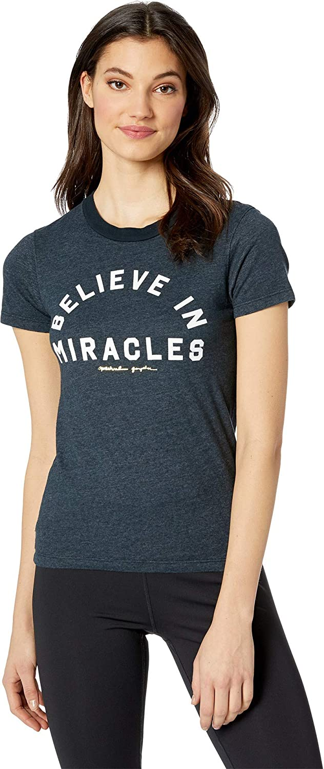 Spiritual Gangster Womens Miracles Tally Tee