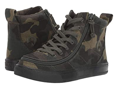 BILLY Footwear Kids Classic Lace High (Little Kid/Big Kid) (Green Camo) Boy