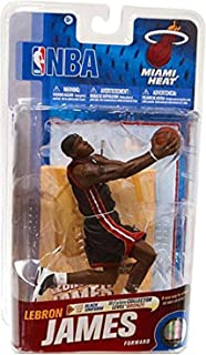 McFarlane NBA Series 19 Lebron James (Miami Heat) Black Uniform Bronze Collector Level Chase (Only 2000 were produced)
