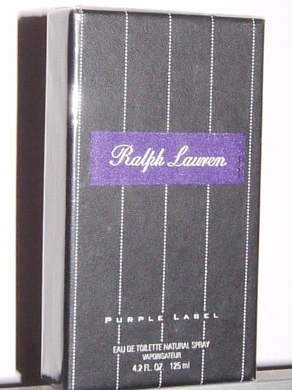 瞬時に敬の念教育Ralph Lauren Purple Label (ラルフローレン パープルラベル) 4.2 oz (126ml) EDT Spray for Men