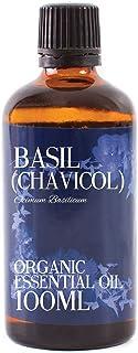 Mystic Moments | Basil (Chavicol) Organic Essential Oil - 100ml - 100% Pure