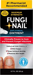 Fungi-Nail Anti-Fungal Ointment, 0.7 Ounce - Kills Fungus That Can Lead To Nail Fungus & Athlete's Foot w/Tolnaftate& Clinically Proven to Cure Fungal Infections