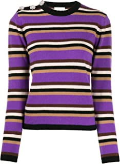 GANNI Luxury Fashion Womens K1282999 Purple Sweater | Fall Winter 19