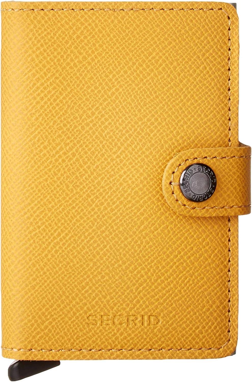 Secrid Mini Wallet Leather Amber Crisple SC5274