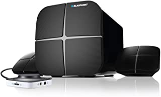 Blaupunkt SP-212 Bluetooth Home Audio Multimedia 2.1 Speaker (Black)