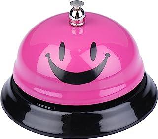I-MART Call Bell, Service Bell, Front Desk Bell, Ring Bell for Office, Hotel, Classroom, School, Dinner, Kitchen, Restaurants (Smiley Face Pink)
