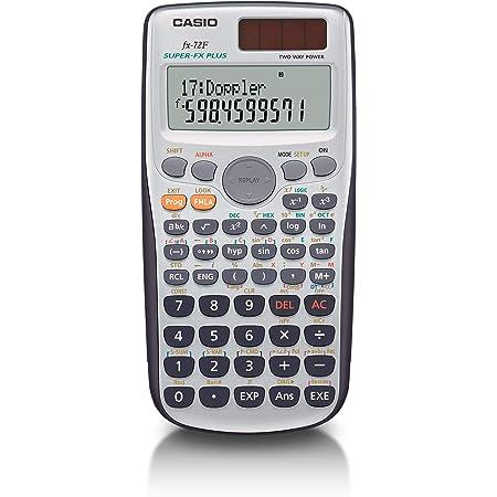 カシオ プログラム関数電卓 180関数・機能 fx-72F-N