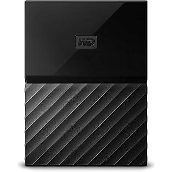 WD HDD ポータブル ハードディスク 4TB USB3.0 ブラック 暗号化 パスワード保護 3年保証 My Passport WDBYFT0040BBK-WESN
