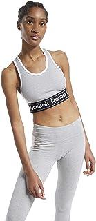 Reebok Women's Te Linear Logo Bralette Sports Bra, Brgrin, XXS