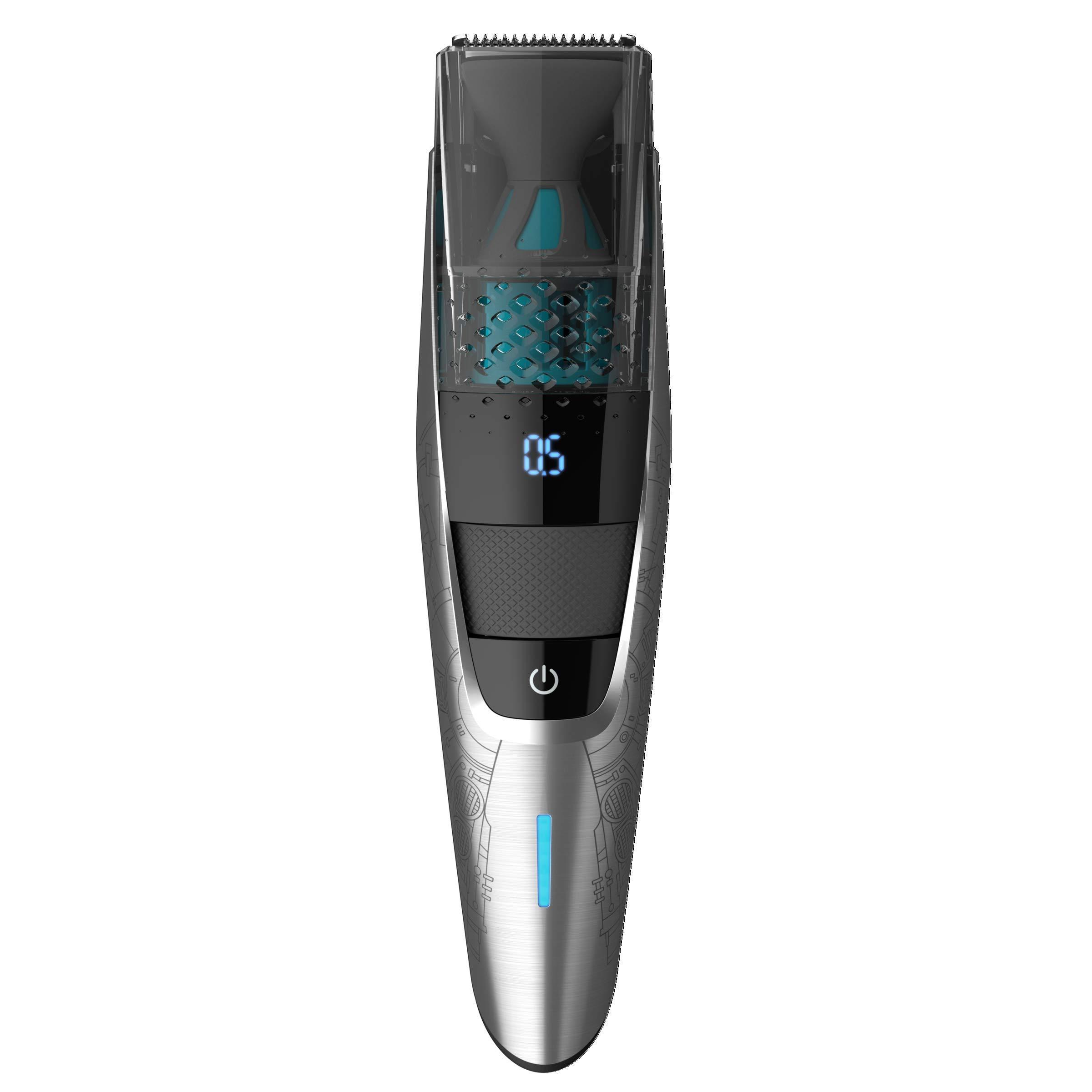 Philips Barbero con Sistema de aspiración SBT720/15 Set Recorte ...