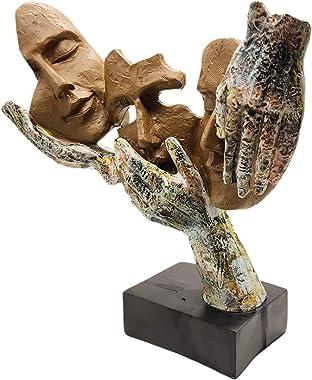 Homebia Wise Men Showpiece Handicraft Item for Home Decor, Office Decor, Shelf Decor