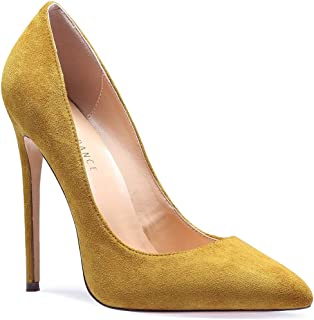6130fe10ee284 Amazon.com: 11.5 - Yellow / Pumps / Shoes: Clothing, Shoes & Jewelry
