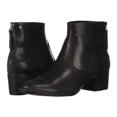UGG Bandara Ankle Boot (Black Leather) Women