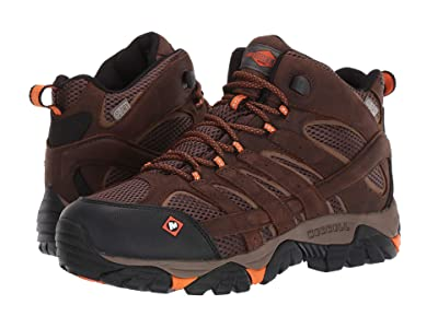 Merrell Work Moab Vertex Mid Waterproof SR (Clay) Men