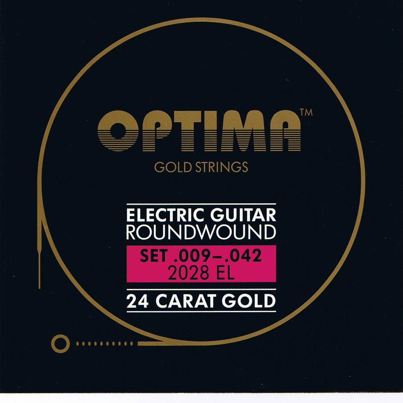 Cheap Optima 24 K Gold Plated Electric Guitar Strings .009-.042 Black Friday & Cyber Monday 2019