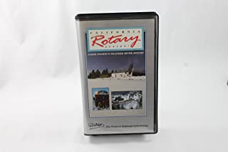 California Rotary Action Union Pacifics Feather River Rotary Pentrex the Finest in Railroad Videotapes Vhs