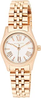Michael Kors Women's Quartz Watch, Analog Display and Stainless Steel Strap MK3230