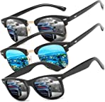 Sunglasses 3 PACK Polarized Men Women Fashion Summer tourism beach outdoor Golf Cycling Fishing Hiking Eyewear Driving sun glasses UV400