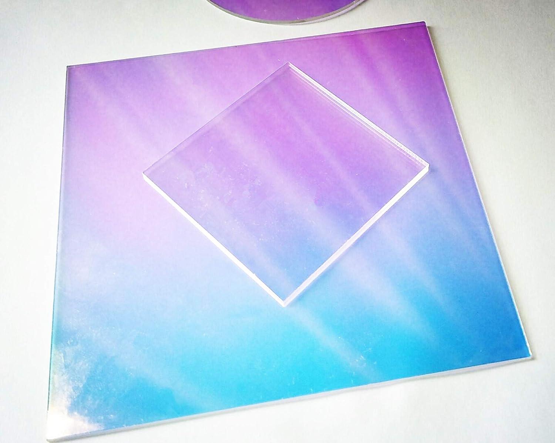 "DIY, Craft, Laser Acrylic Sheet 1//8/"" Radiant Iridescent Plexiglas Plastic"