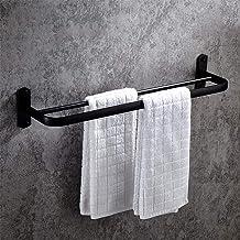 Ponsvrij ponsen dubbel-dubbel, ruimte aluminium handdoekenrek, hotel badkamer hardware hanger, handdoekhouder