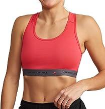 DANISH ENDURANCE Sport BH voor Dames, 1 Pack, Draadloos en Lichtgewicht, Racerback Compressie Bralette voor Workouts