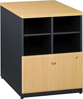 Bush Business Furniture Series A Collection 24W Piler Filer in Beech