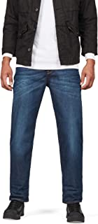 G-Star Raw Mens 51004-4639 3301 Relaxed Jeans - Blue - 36W x 32L
