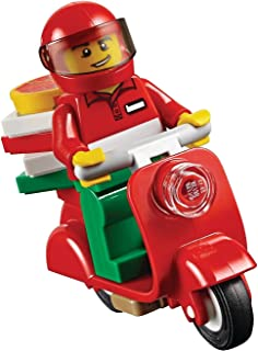 LEGO City MiniFigure - Pizza Delivery Guy (w/ Scooter & Pizza Box) 60150