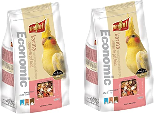 Vitapol Economic Food for Cockatiel (1200 G) - Pack of 2