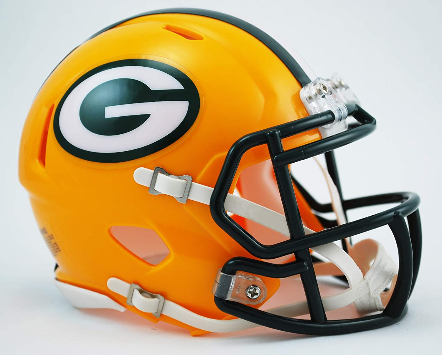 Riddell Green Bay Packers American Football Nfl Speed Mini Helm Amazon Co Uk Sports Outdoors