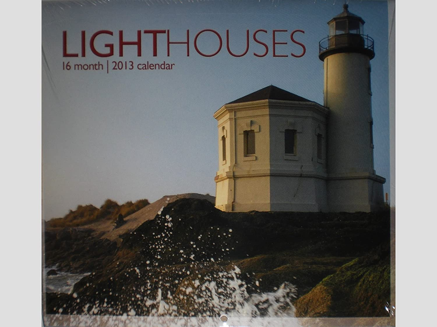 Lighthouses 16 Indianapolis Mall Month 2013 Deluxe Wall Mini Calendar