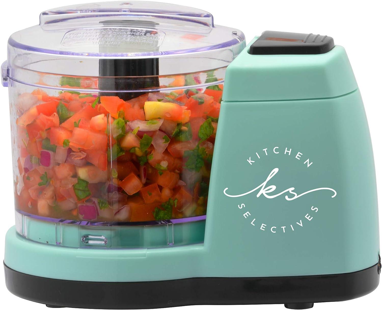 Kitchen Selectives Mint Green 1½ Cup Mini Chopper