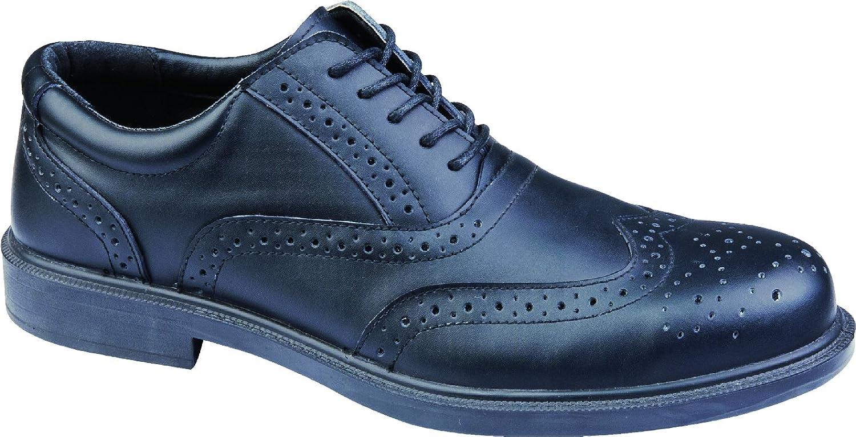 Delta Plus Panoply Richmond S3 SRC Black Mens Composite Toe Cap Oxford Safety shoes