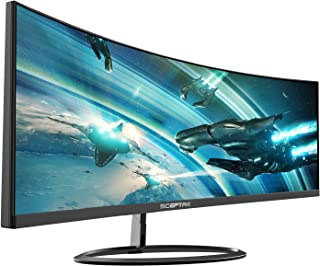 """Sceptre Curved 30"""" 21:9 Gaming LED Monitor 2560x1080p UltraWide Ultra Slim HDMI DisplayPort Up to 85Hz MPRT 1ms FPS-RTS Bu..."""