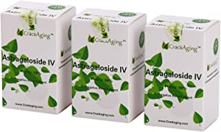Super-Absorption Astragaloside iv at 98% (50mg/Cap, 180 caps in 3 Bottles)
