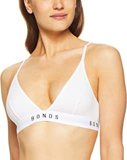 Bonds Women's Originals Triangle Crop Bra
