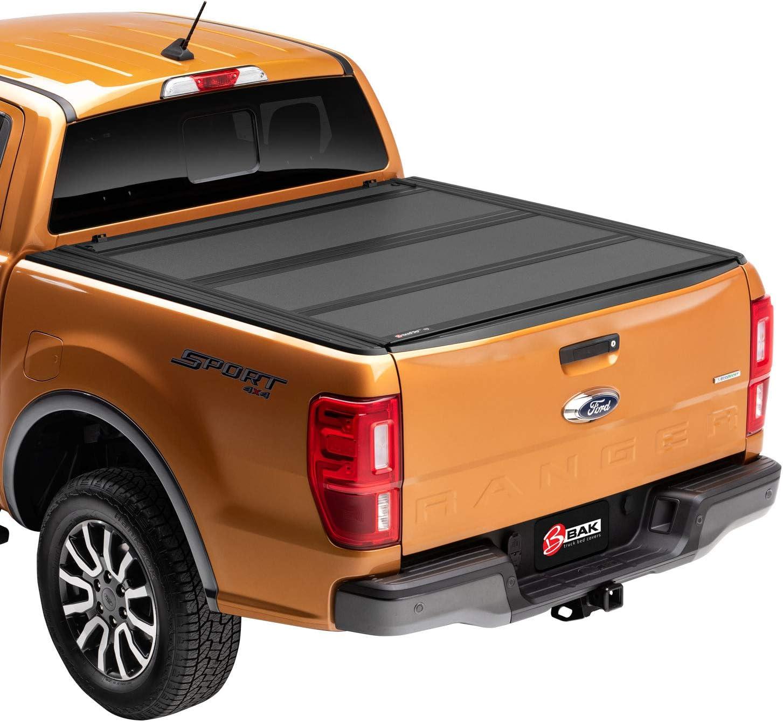 BAK BAKFlip MX4 Hard Folding Truck Bed Tonneau Cover for Nissan Frontier