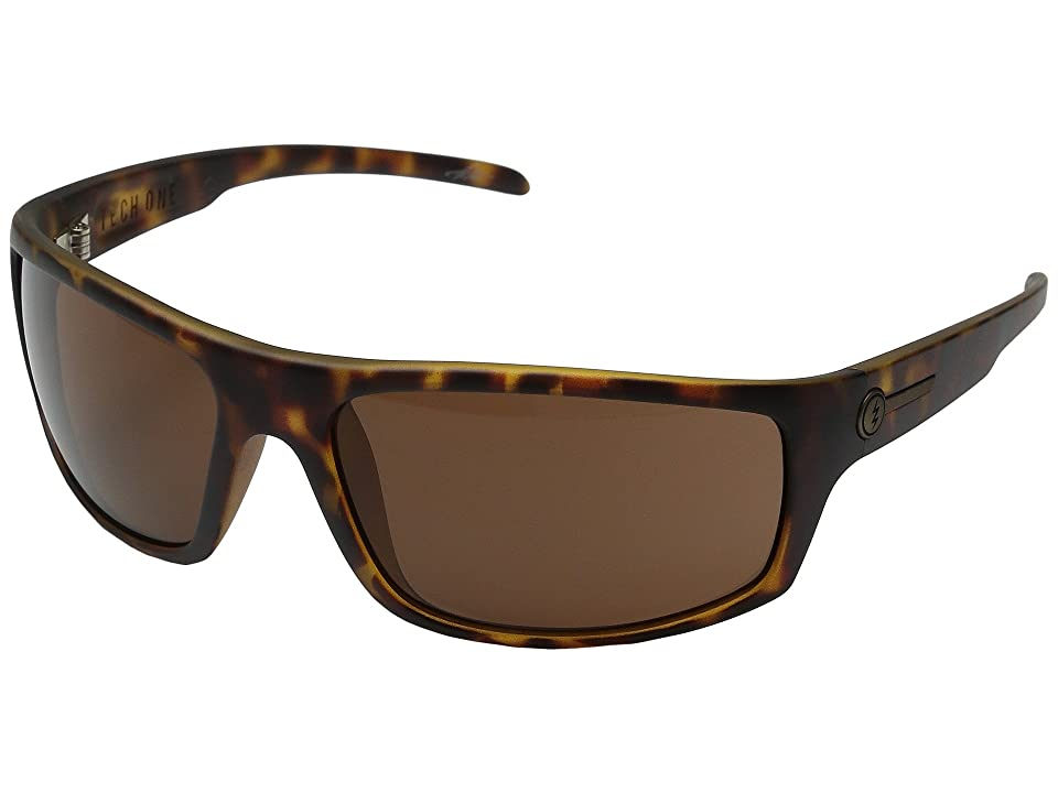 Electric Eyewear Tech One (Matte Tort/Melanin Bronze) Sport Sunglasses