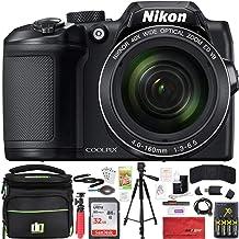 Nikon COOLPIX B500 16MP 40x Optical Zoom Digital Camera 32GB Bundle Includes Camera, Bag,..