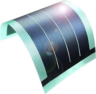 JIANG Flexible Thin Film Solar Panel Module DIY 1W 6V Panel Rechargeable Battery (Green)