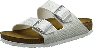 Birkenstock Arizona Bf Magic Snake Regular Width White