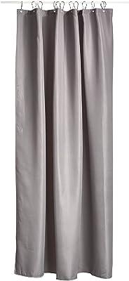 ゾーン(Zone) シャワーカーテン グレー L:200cmW:180cm シャワーカーテン LUX 330128