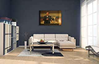 Paints & Prints Wall Al Pacino Scarface Premium The World is Yours Wall Decor/Home Decoration Stretched Gallery Canvas Wrap Giclee Print Ready to Hang (30