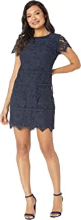 vince camuto navy dress