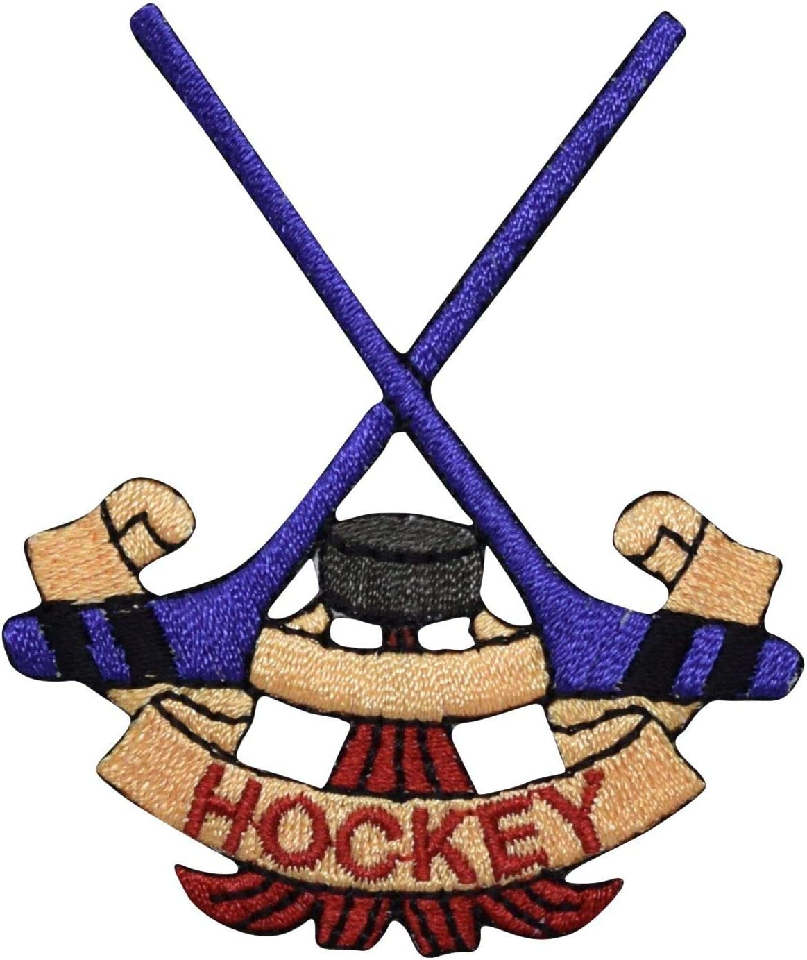 Omaha Mall Hockey Sticks Embroidered on Patch Iron A surprise price is realized