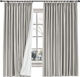ChadMade Cotton Linen Blend Door Curtain 84